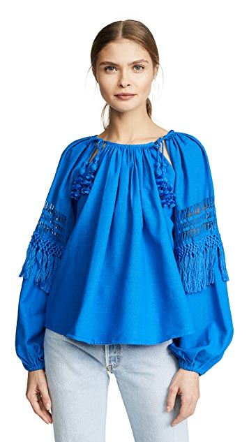 Ulla Johnson Duman Blouse