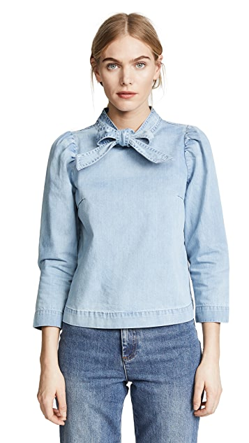 Ulla Johnson Wes Blouse
