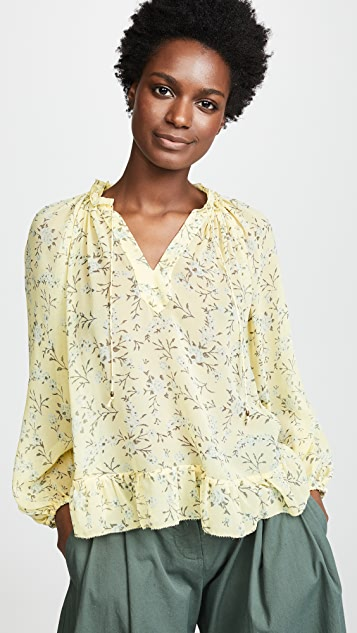 Ulla Johnson Rosine Blouse - Acacia