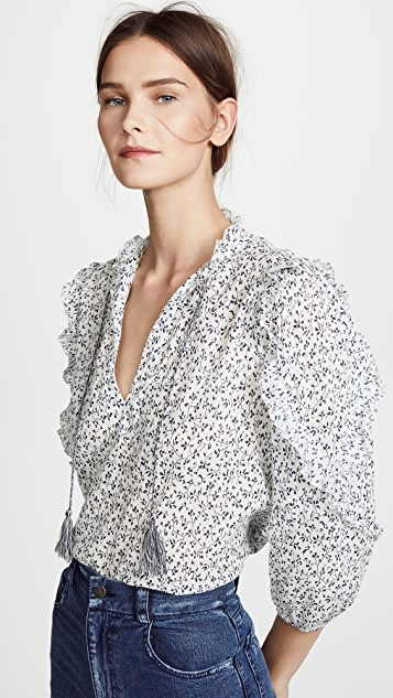 Ulla Johnson Lillian Blouse
