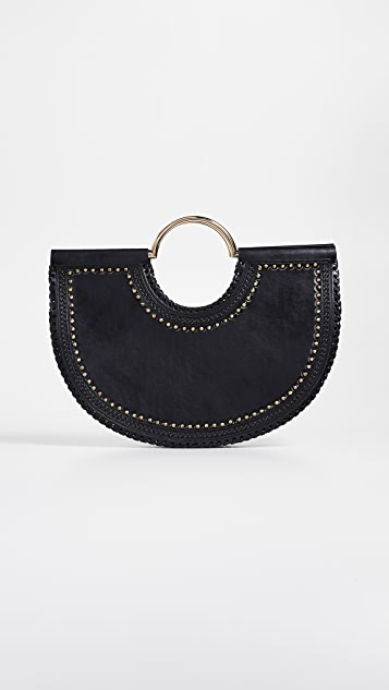 Ulla Johnson Isadora Half Moon Tote