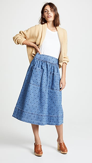 Ulla Johnson Johanna Pinafore Dress