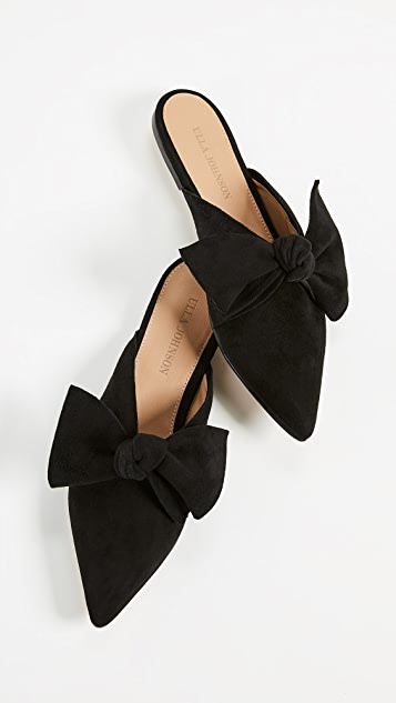 Gorgeous bow mules