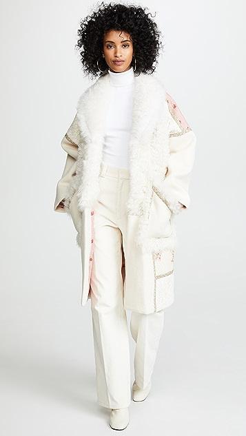 Ulla Johnson Shag Coat