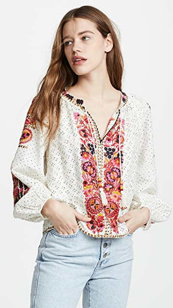 Yara Blouse by Ulla Johnson