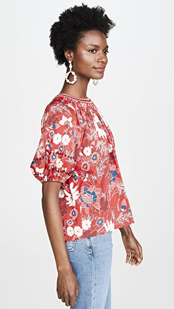 Ulla Johnson Celie Blouse