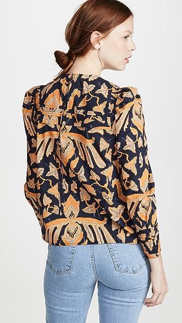Ulla Johnson Gemi 女式衬衫