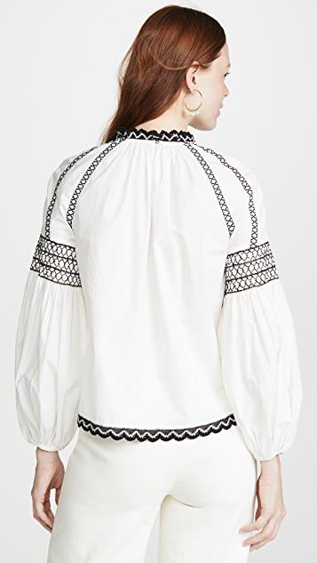 Ulla Johnson Camden Blouse
