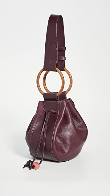 Ulla Johnson Piera 半月形手提袋