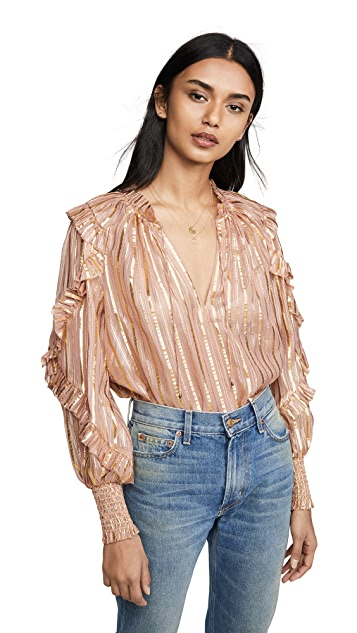 Ulla Johnson Lucinda Blouse