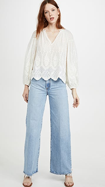 Ulla Johnson Harper Blouse