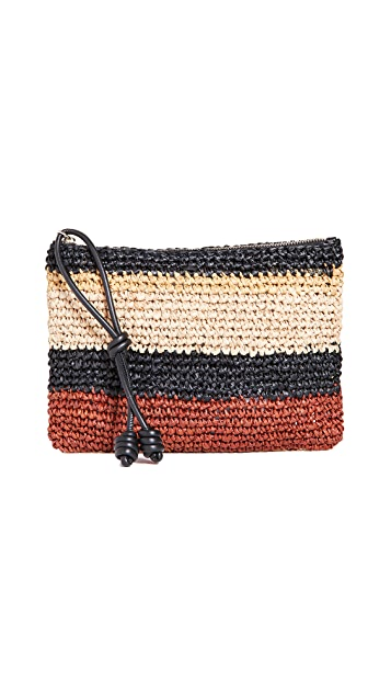 Ulla Johnson Shima Zip Pouch