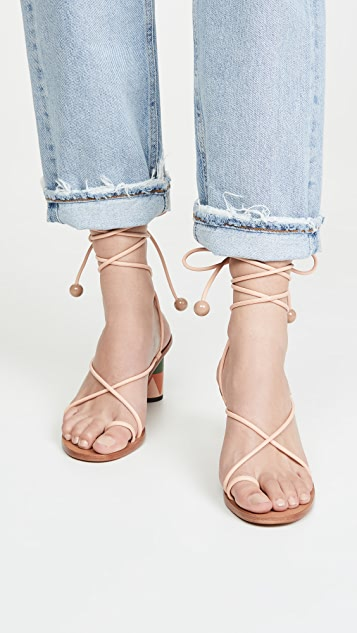 Ulla Johnson Kaya Heel Sandals