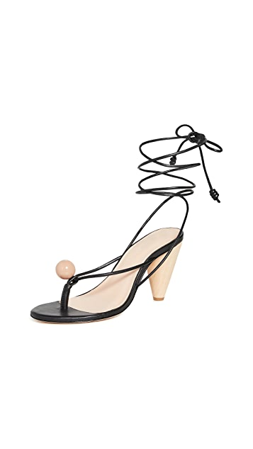Ulla Johnson Darby Heel Sandals