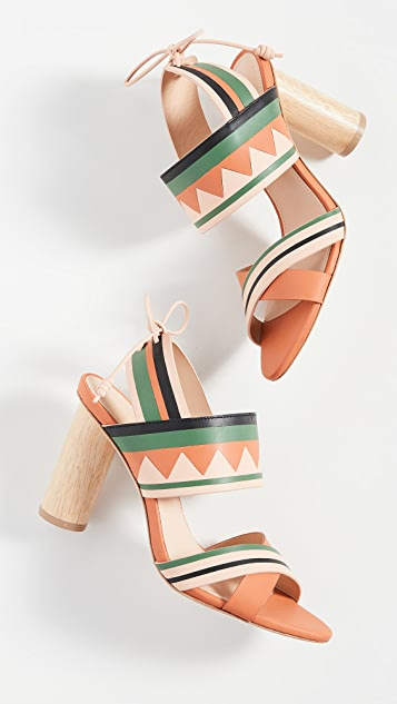Ulla Johnson Milou Heel Sandals