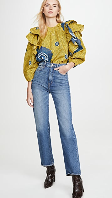 Ulla Johnson Caasi Blouse