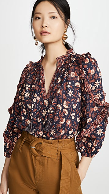 Ulla Johnson Azalea Blouse