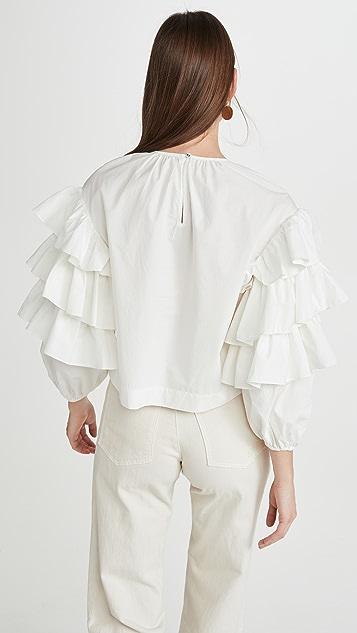 Ulla Johnson Tulia 女式衬衫