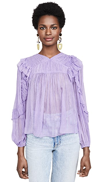 Ulla Johnson Isolde Blouse