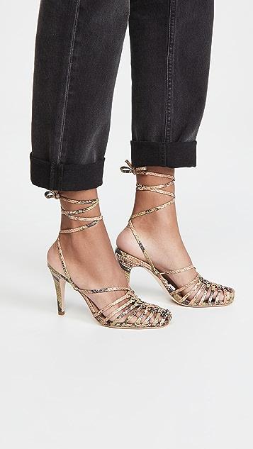 Ulla Johnson Kennetta Caged Strappy Sandals