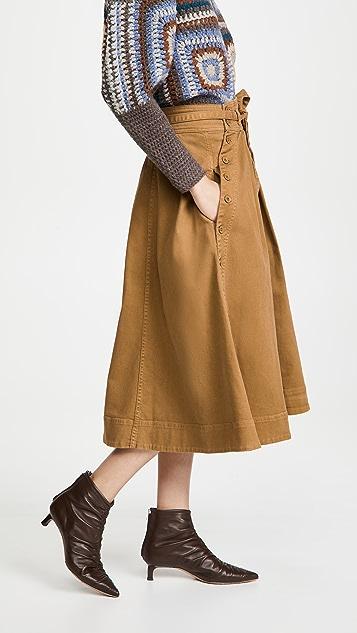 Ulla Johnson Micah 半身裙
