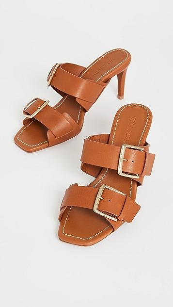 Ulla Johnson Carine 带跟凉鞋