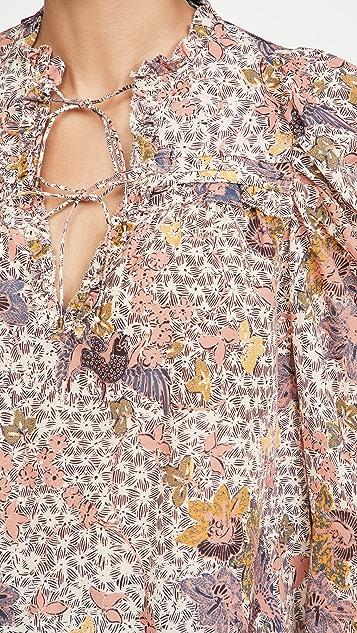 Ulla Johnson Remy 女式衬衫