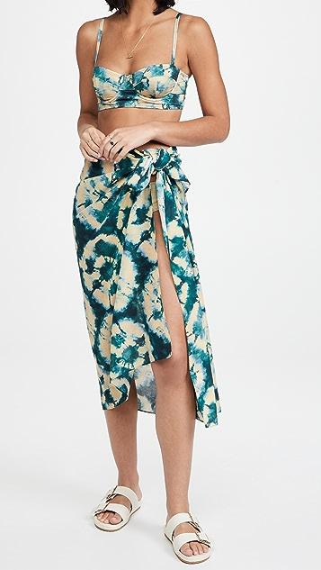 Ulla Johnson Paz 罩衫纱笼