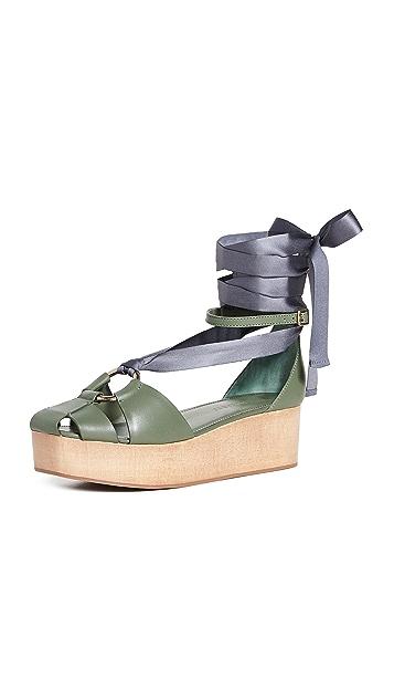 Ulla Johnson Mako 厚底凉鞋