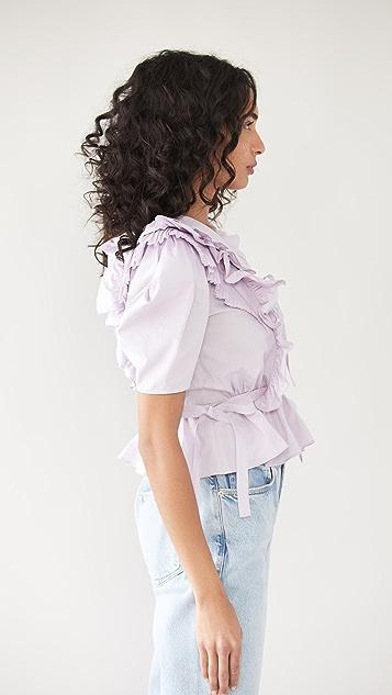 Ulla Johnson Amata 女式衬衫