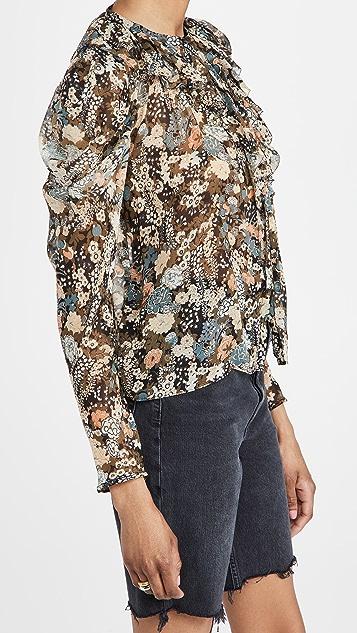 Ulla Johnson Colette 女式衬衫
