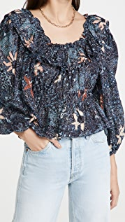 Ulla Johnson Asmara 女式衬衫