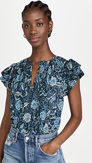 Ulla Johnson Shani 女式衬衫