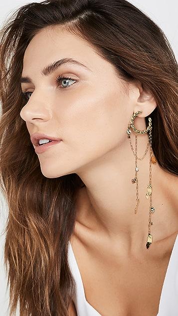 Ulla Johnson Cosima Hoop Earrings