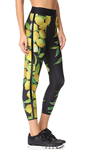 Ultracor Sprinter Lemon Print Leggings