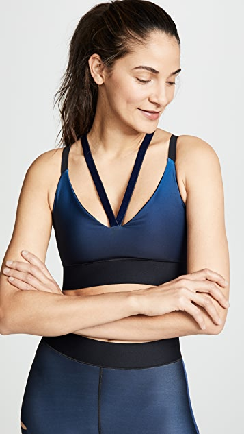 Ultracor Rhombus Gradient Velvet Bra