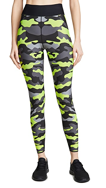 Ultracor Ultra High Neon Camo Leggings