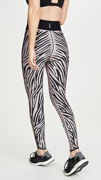 Ultracor 斑马图案超高腰贴腿裤
