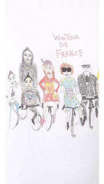 Unfortunate Portrait Wintour de France Tee