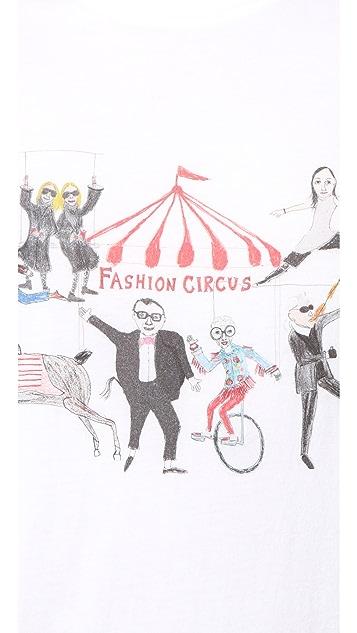 Unfortunate Portrait Fashion Circus Tee