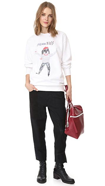 Unfortunate Portrait French Kiss Sweatshirt