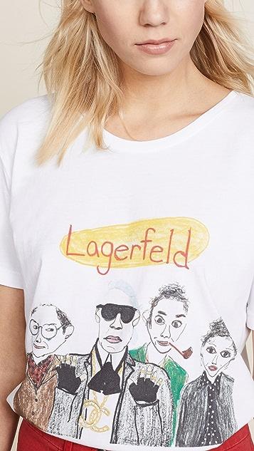 Unfortunate Portrait Lagerfeld Tee