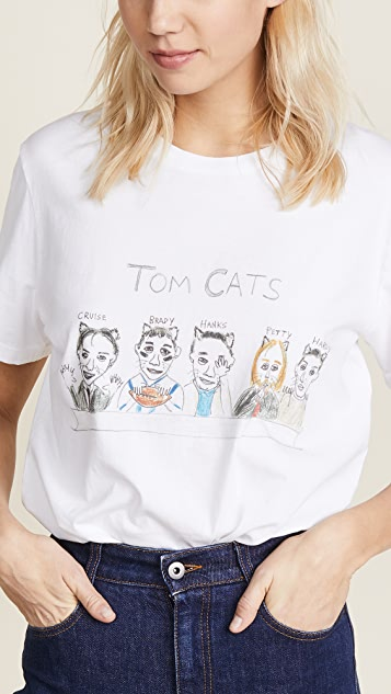 Unfortunate Portrait Tom Cats Tee