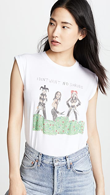 Unfortunate Portrait No Shrubs Muscle Tee