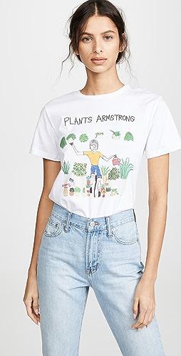 Unfortunate Portrait - Plants Armstrong T-Shirt
