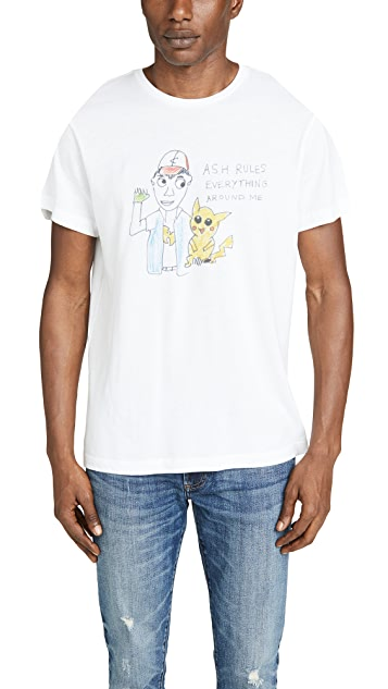 Unfortunate Portrait Short Sleeve Ash Rules T-Shirt