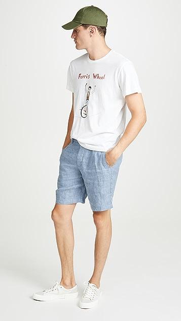 Unfortunate Portrait Ferris Wheel T-Shirt