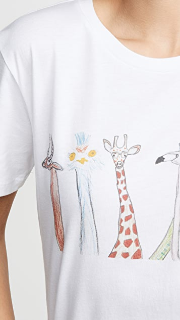 Unfortunate Portrait Animals Tee