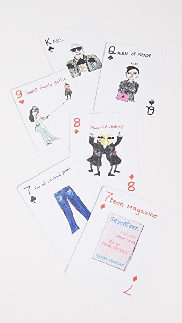 Unfortunate Portrait Unfortunate Portrait Fashion Playing Cards
