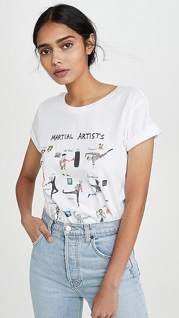 Unfortunate Portrait Martial Artists T 恤
